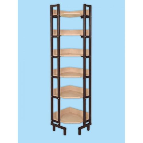 Шкаф-стеллаж угловой - оборудование для школ, учебных и обра.