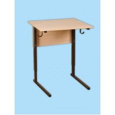 Стол ученический одноместный. Регулируемый по высоте. (р.гр. №1-4)