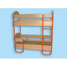 Кровать двухуровневая детская (спальное место 1400х600)