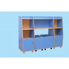 Комплект шкафов для игрушек и пособий«Василек-4»