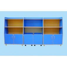 Комплект шкафов для игрушек и пособий«Василек-3»