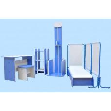 Набор игровой мебели «Поликлиника»(6 элементов)